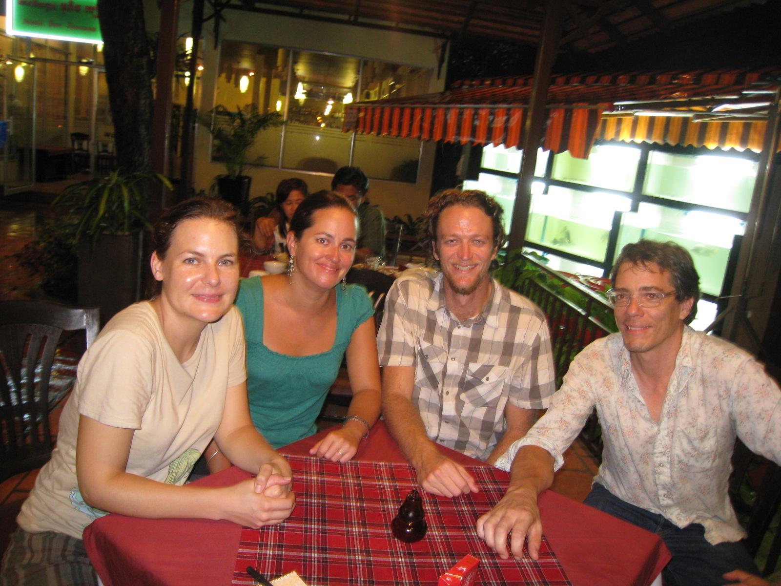 Teresa, Erica, Joe, and John