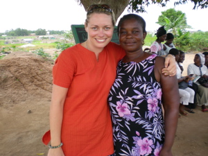 My first Kiva client–her name is Sophie, my namesake!