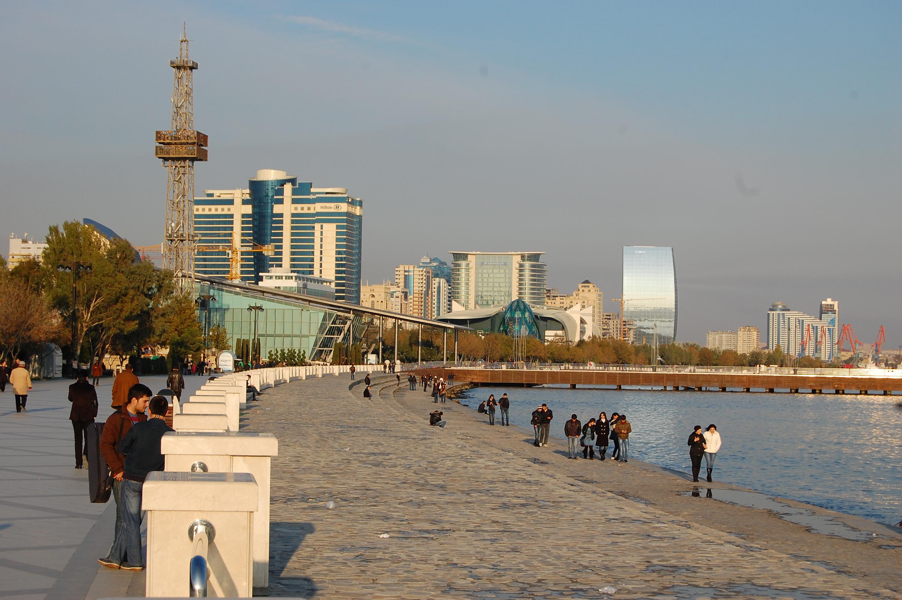 The Bulvar, Baku, Azerbaijan