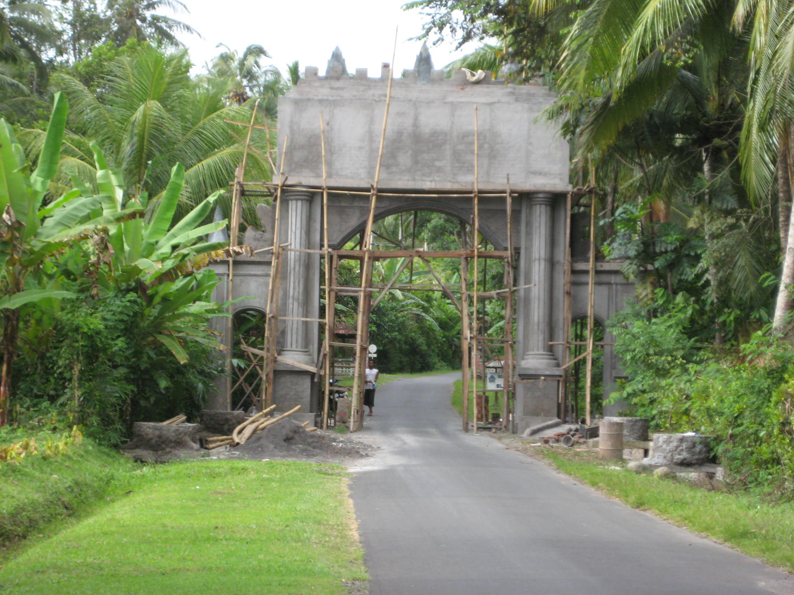 The new gate in Belimbingsari