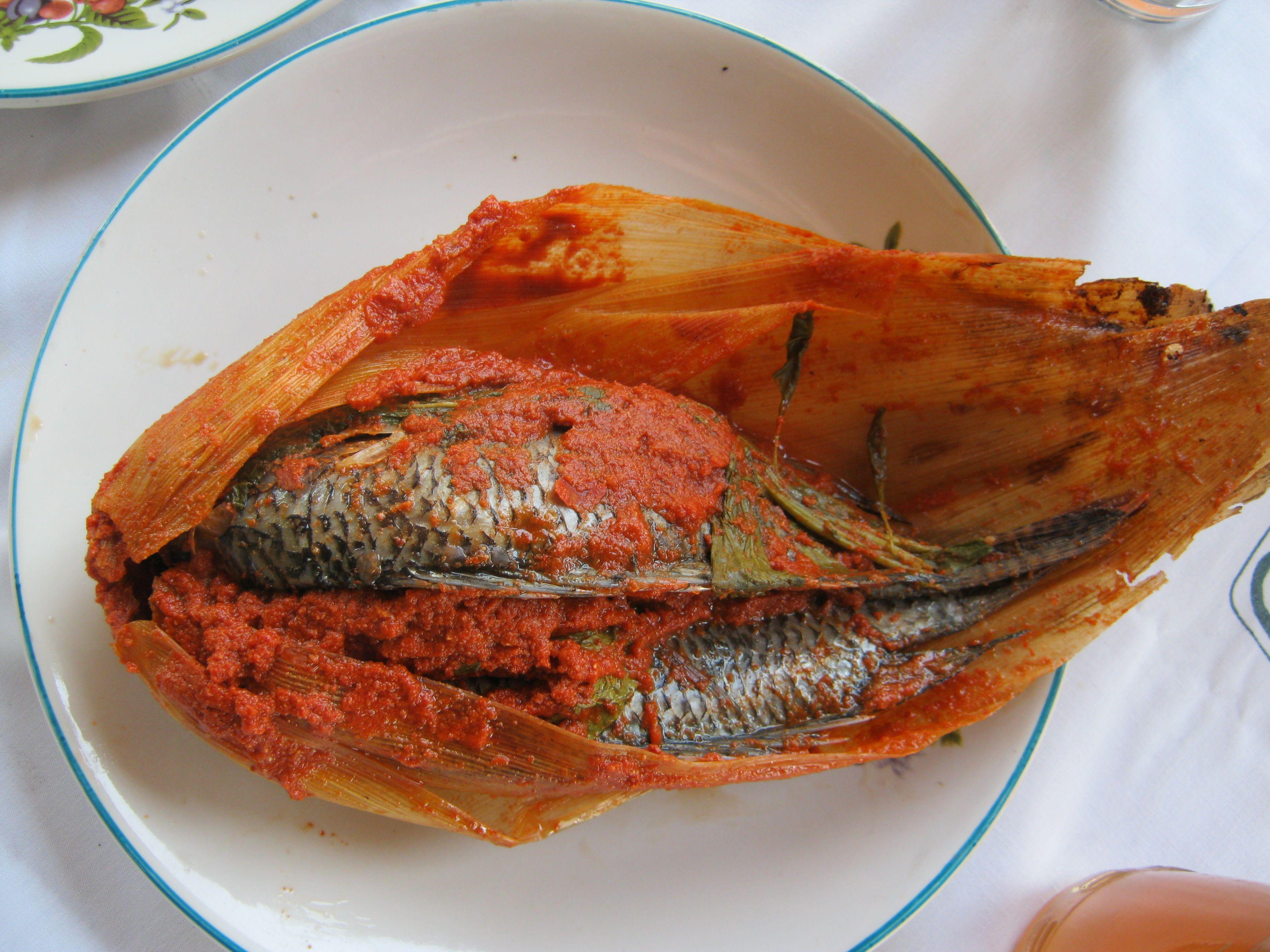 fish tamale