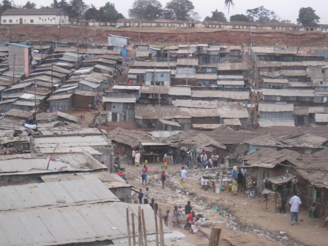 Overlooking Mathare
