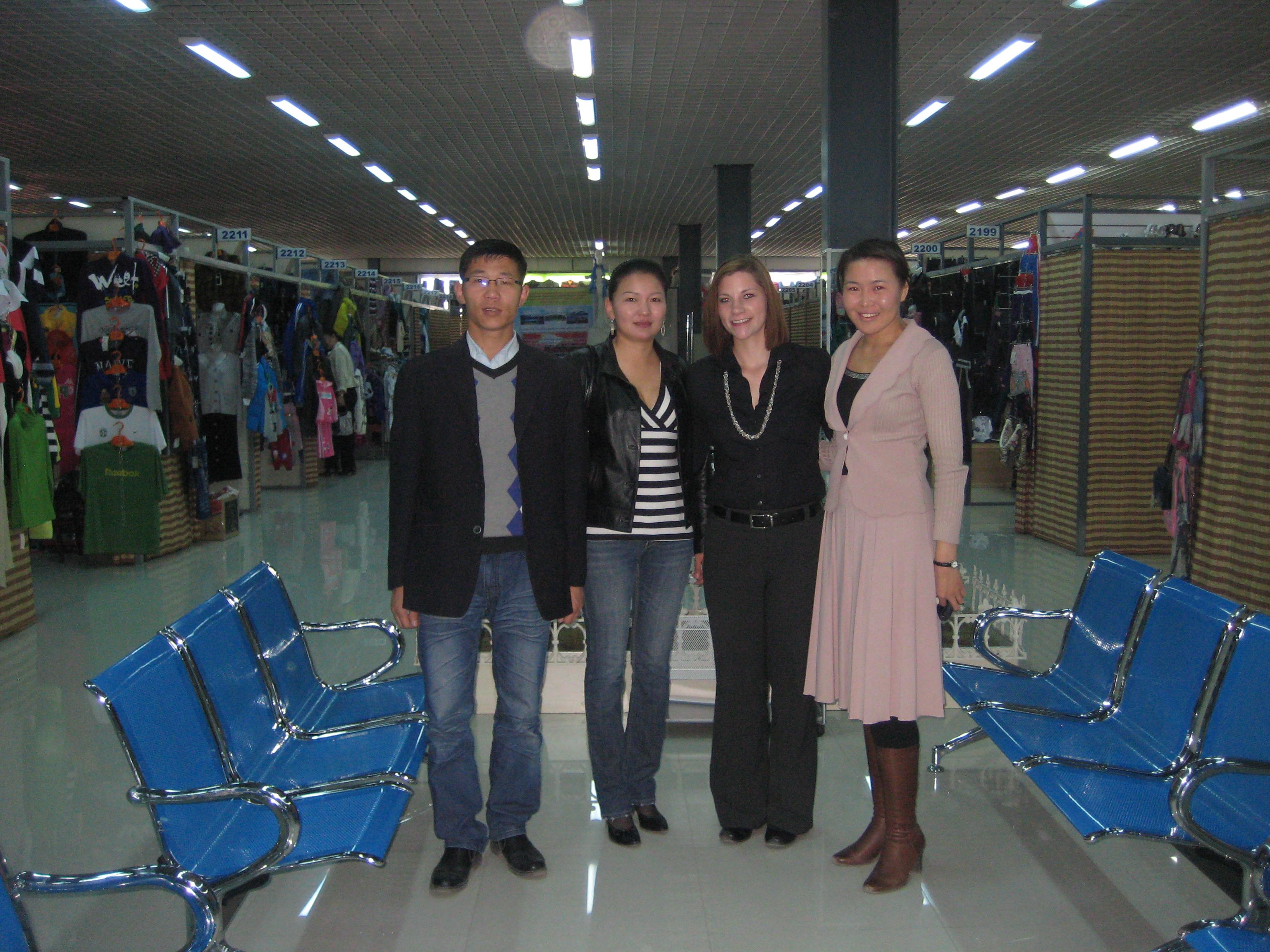 A new indoor market in Bayankhongor, Bayankhongor province
