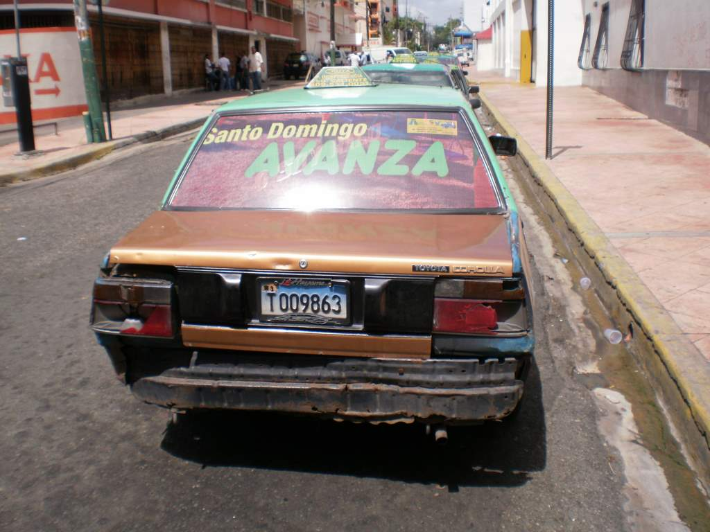 Santo Domingo is moving forward