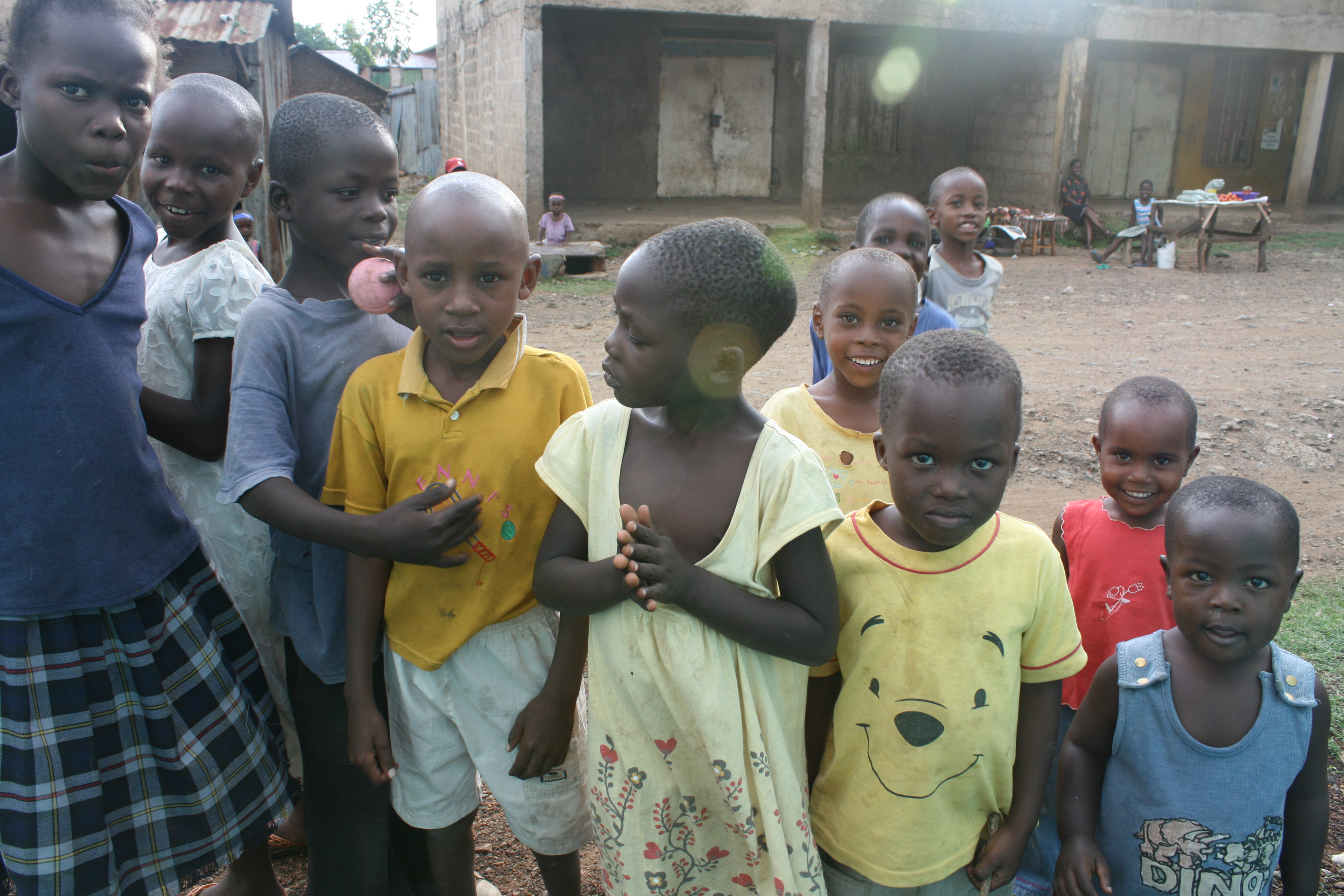 Children in Nyalenda